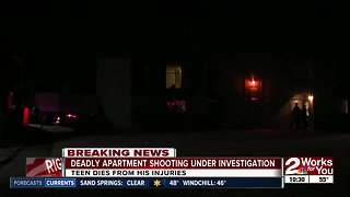 Deadly apartment shooting under investigation