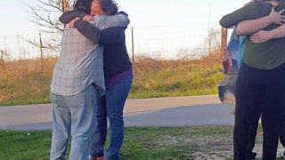 Incredible moment father and daughter are reunited after 35 years apart - Video