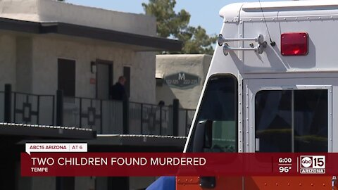 Woman detained after two children were found murdered in Tempe apartment