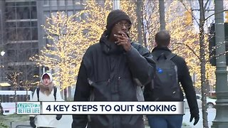 Living A Better Life: Four Key steps to quit smoking - Video