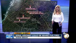 Serial arsonist could be behind five fires - Video