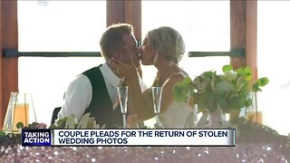 Wedding day pictures stolen from Livonia newlyweds