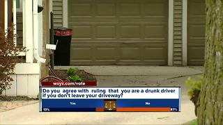 Do you agree with ruling that you are a drunk driver if you don't leave your driveway? - Video