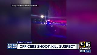 Man dies after officer-involved shooting in Flagstaff - Video