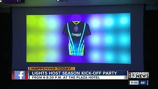 Season kick-off party for Las Vegas Lights