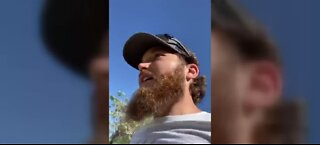 Las Vegas man running 100 miles to bring awareness to veteran suicide