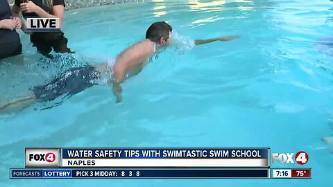 Swimtastic Swim School offers water safety tips