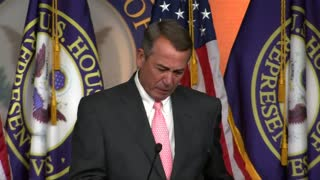 Scorn, praise after Boehner resigns - Video
