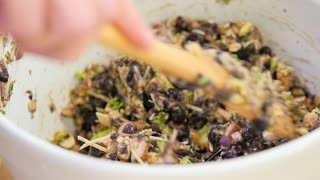 Portobello veggie burger recipe - Video