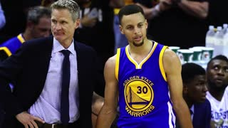 Stephen Curry Fined $25k for Mouthguard Toss Along With Coach Kerr - Video