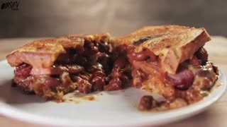 Chili Cheese Dog Grilled Cheese Sandwich - Video