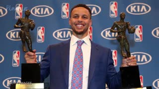 Riley Curry Steals the Show During Stephen Curry's MVP Acceptance Speech