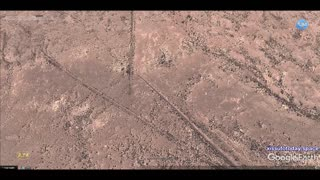Mysterious geoglyphs of Namibia, part 3, reticulated fields  - Video