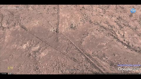 Mysterious geoglyphs of Namibia, part 3, reticulated fields