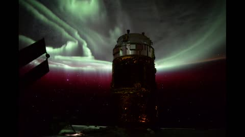 Stunning time lapse of Aurora Borealis from space station