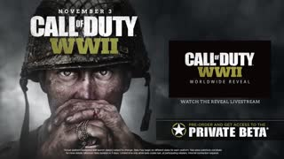 Call of Duty WWII - Official Reveal Trailer