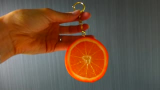 Cool Orange Japanese Key holder in Japan