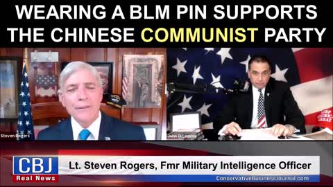 Wearing a Black Lives Matter Pin Supports the Chinese Communist Party!