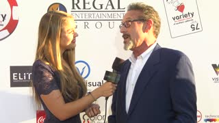 Rob Steinberg at Variety's 6th Annual Poker Tournament at Paramount Studios - Video