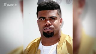Ezekiel Elliot EXPOSES a Woman's Breasts at Dallas St. Patrick's Day Parade - Video
