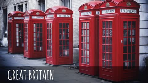 Phone Booths Round the World