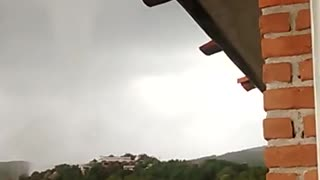 Mexican Waterspout - Video