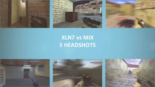 CS:GO - Practice Match XLN7 vs MIX - Video