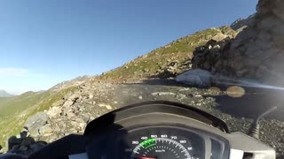 World's Most Dangerous Road for a Moped - Video