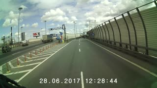 No Bikes on Highway - Video