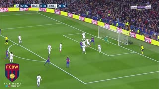 Gol de Suarez vs PSG - Video