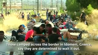 Macedonia cracks down on flow of migrants under emergency decree - Video