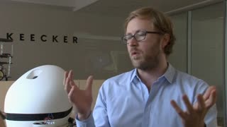 Keecker robot the first 'home pod', says creator - Video