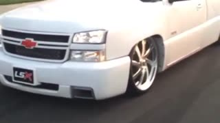 Chevy Burns Out For Days - Video