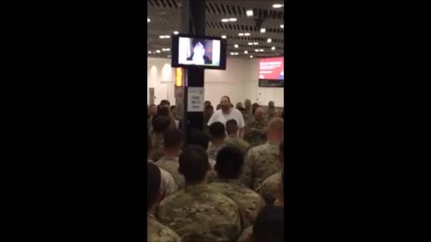Philanthropist Buys Meal For 400 Soldiers At Airport