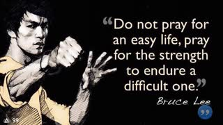 BRUCE LEE FAMOUS QUOTES - Video
