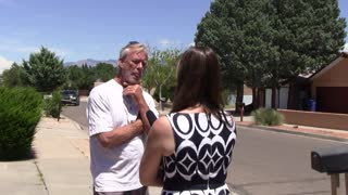 Road Rage Knockout Punch in #ABQ  - ALBACRAZY - ABQ RAW - Video