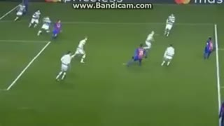 Messi scored great goal vs Celtic - Video