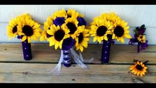 11 incredible sunflower bouquets - Video