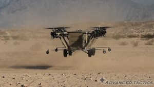 Helicopter-truck hybrid takes to the air - Video