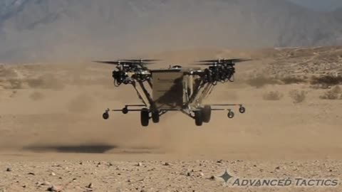 Helicopter-truck hybrid takes to the air