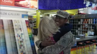 Heartwarming Homecomings For Veterans Day - Video
