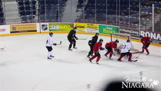 Canadian World Juniors Championship Team in St. Catharines - Video