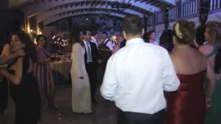 The father of the bride goes crazy!!