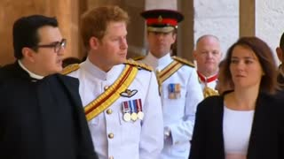 Prince Harry Visits Monte Cassino Abbey Ahead Of Battle Anniversary - Video