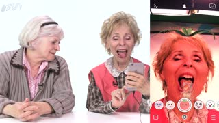 Watch Our Grandmas Try Using Snapchat - Video