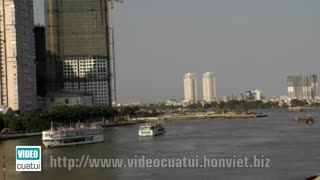 Thu Thiem Bridge - HCMC - Video