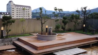 Japanese Hot Spring  - Video