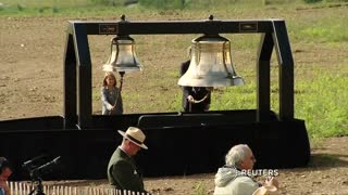 Bells toll for Flight 93 victims in Pennsylvania - Video