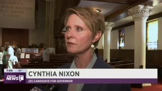 Cynthia Nixon calls ICE a terrorist orginization - Video