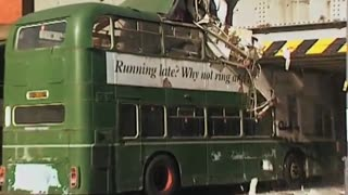Bus Crashes Into Bridge - Video